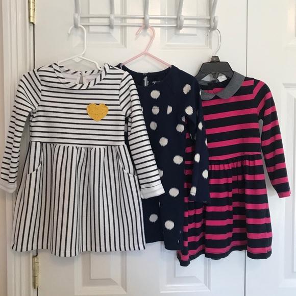 Set of three 3T dresses